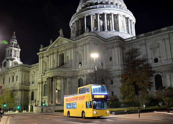 Tour notturno Londra