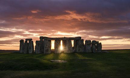 Entrare nel cerchio di Stonehenge