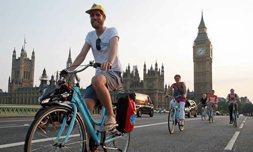 Tour Londra in bicicletta